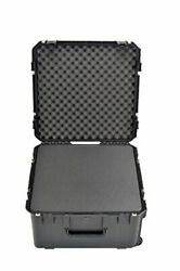 SKB 3I-2217-12BC Mil-Std Waterproof Case with Wheels and Cubed Foam