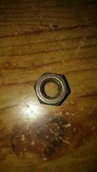 Used 4 Ea. Wide Deck Lycoming Cylinder Base Nuts P/n 383-b 3/8 X 24
