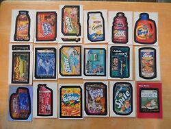 Lot of 145  2004 & 2005 Topps Wacky Packages stickers clings tattoos