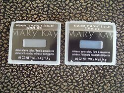 TWO(2) MARY KAY MINERAL EYE COLOR~~MIDNIGHT STAR~~BRAND NEW~~FAST FREE SHIPPING