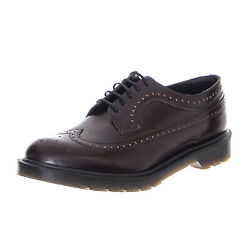 Dr.Martens 3989 Boanil Brush Merlot - Shoes Lace-up Men's Burgundy