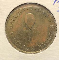 Balloon O Mat Brass Token New York City By Miner Industries Great Condition