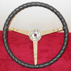 1965 1966 Mustang Fastback Coupe Gt Convertible Original Steering Wheel W Wrap