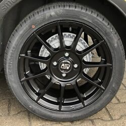 MSW 85 Alloy Wheels Smart Fortwo 453 all - Season Tyres Kumho 16