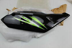 2014 KAWASAKI KLR650 OEM RIGHT REAR BACK SIDE NUMBER PLATE FAIRING COWL COVER