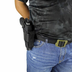 NEW OWB CARRY NYLON GUN HOLSTER WITH MAGAZINE POUCH FOR... choose your Gun model