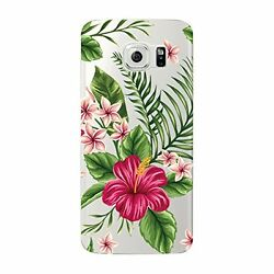 Fancy Case Cover Transparent Flexible Ultra Slim For Samsung Galaxy S7 Edge