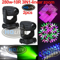 Zoom Robe Pointe 10r 280w Beam Spot Wash 3in1 Moving Head Stage Lighting Disco