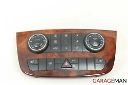 06-09 MERCEDES W251 R350 A/C AC CLIMATE CONTROL PANEL SWITCH OEM