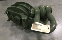 5/8 X 8 Inch Double Sheave Snatch Block 50,000 Pound Capacity 10884778