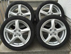 Brock Rc30 16andacuteandacute Silver Smart Fortwo Forfour 453 Alloy Wheels Winter Kumho Rdks