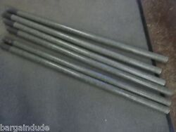 40' FOOT FIBERGLASS ANTENNA TOWER MAST SECTIONS POLE POLES USED VERY GOOD 10 pc.