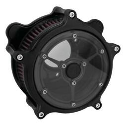 Roland Sands Design Clarity Air Cleaner Black Ops 0206-2060-smb