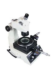 Radical Highly Precise Toolmakers Angle And Linear Industrial Measuring Microsc...