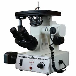 Radical 600x Inverted Metallurgical Non Ferrous Inspection Microscope W 10mpi...