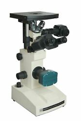 Radical Research 40-2000x Inverted Metallurgical Metallograph Led Reflected L...