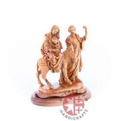 The Flight Into Egypt's Wooden Statue