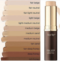 tarte Amazonian Clay Stick Foundation YOU CHOOSE YOUR SHADE - Full Size - New