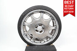Rare 07-13 Mercedes W221 Dronell Rim Made In Japan R21 Silver Oem 1