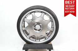 Rare 07-13 Mercedes W221 Dronell Rim Made In Japan R21 Silver Oem 3