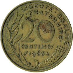 Coin / France / 20 Centimes 1963 Wt213