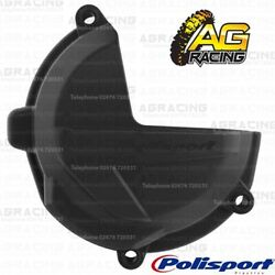 Polisport Black Clutch Cover Protector For Beta RR 250 2019