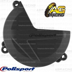 Polisport Black Clutch Cover Protector For Sherco SEF 450 2017 Enduro