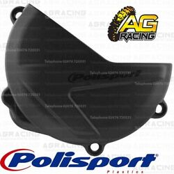 Polisport Black Clutch Cover Protector For Honda CRF 250R 2018-2019 Motocross