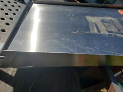 Stainless Steel Ramp For Scale Wheel Chair, Loading, Ent. Heavy Duty Never Used.