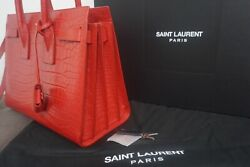 3150 Classic Sac De Jour Small In Embossed Crocodile Shiny Leather