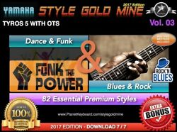 82 New Super Styles Dance Funk And Blues Rock For Yamaha Genos And Psr-sx900 Tyros 5