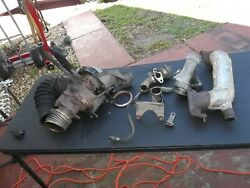 87 Mercedes W126 300 Sdl Turbo-charger With Parts