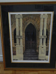 Deborah Dupont And039habana Puerta Iiand039 Litho Signed And Numbered Matted And Framed