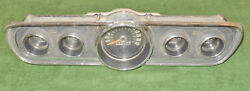 1966 Mustang Fastback Coupe Convertible Gt Shelby Orig Gauge Instrument Cluster