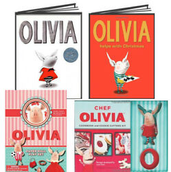 Olivia By Ian Falcon,olivia Helps With Christmas,paper Dolls And Cookie Cutter Kit