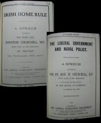Winston Churchill Irish Home Rule And Liberal Government And Naval Policy 1912