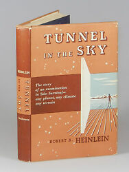 Robert A. Heinlein - Tunnel In The Sky First Edition In Dust Jacket