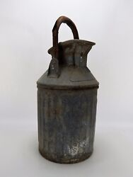 Antique Geo D.ellis And Sons Oil/gas Can Ellisco 313 Made In Usa