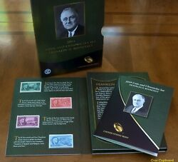 2014 Franklin D Roosevelt Fdr Coin And Chronicles Set-limited Mintage