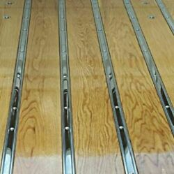 Bed Strips Ford 1973 - 1979 Polished Stainless Long Bed Flareside Stepside Truck