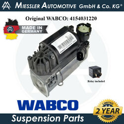 Renault Espace Mk Iii 96-02 Oem New Air Suspension Compressor And Relay 7701059968