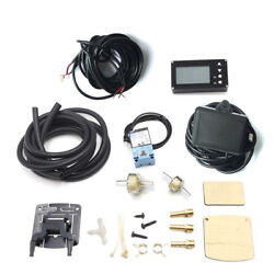 LCD Compact EVC Electronic Boost Controller Valve Gauge Meter for Car SUV Engine