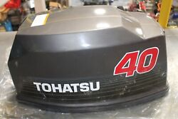 New Oem Tohatsu Upper Engine / Motor Cover Cowl 40 Hp 2 Stroke 361-s67500-3