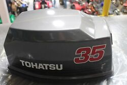 New Oem Tohatsu 35 Hp Motor / Engine Cover Upper 370675000 370675001 Superseded