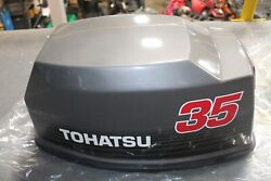 Oem Tohatsu 35 Hp Motor Cover Upper 370675001 370-67500-1 Supersedes 370675000