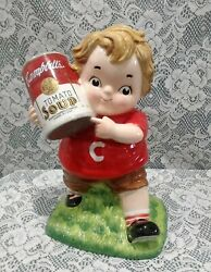 Campbell's Tomato Soup Kid Cookie Jar 3772