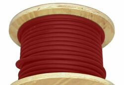 1000and039 4 Awg Welding Cable Red Copper Conductor Flexible Battery Wire 600v