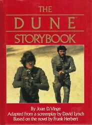 Dune Hardcover Story Book 60 Pgs With Movie Pictures Mint 5 Copies Sting Nos Oop