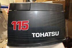 New Oem Tohatsu Upper Motor Cover 115 140 Hp 3j6s675100 Superseded By 3c7s675102
