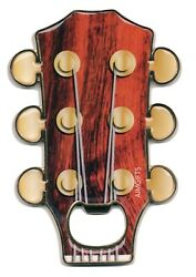 New Guitar Headstock Design Bottle Opener With Magnetic Back Free Postage